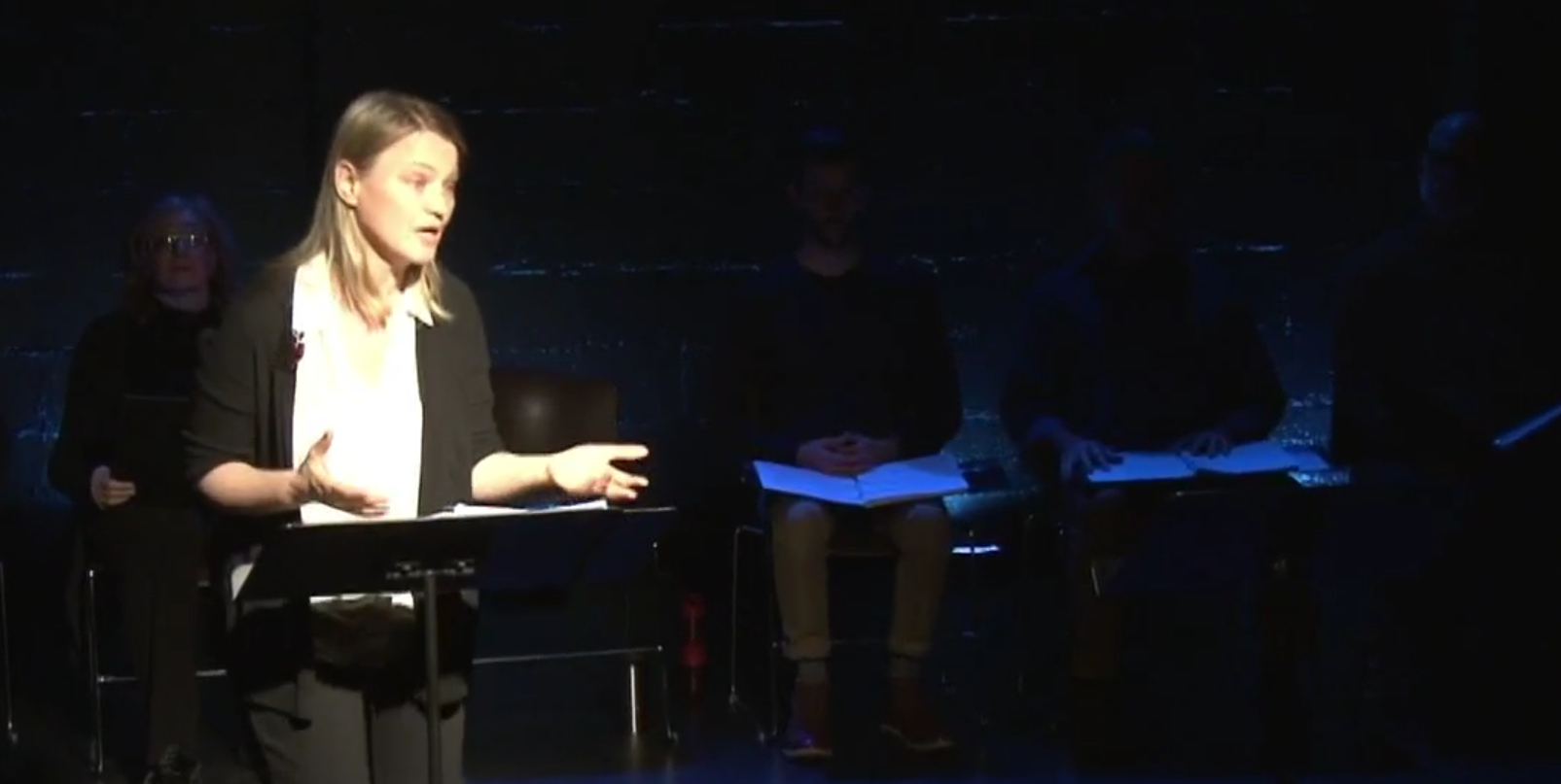 Initial 29-hour Reading of 'America is Hard to See' by Travis Russ